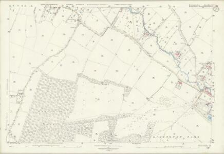 Huntingdonshire XX.6 & 7 (includes: Dean and Shelton; Kimbolton; Swineshead; Tilbrook) - 25 Inch Map