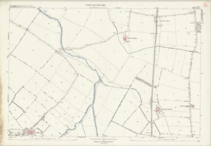 Nottinghamshire XL.7 (includes: Cotham; Elston; Flawborough; Long Bennington; Shelton; Sibthorpe; Staunton) - 25 Inch Map