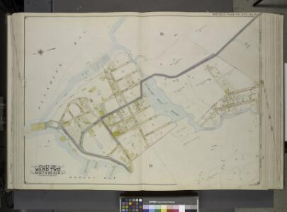 Queens, Vol. 2, Double Page Plate No. 19; Part of     Ward two North Beach; [Map bounded by Flushing Bay, Beach St., Jackson Creek,    Old Bowery Road, Astoria and Flushing Turnpike; Including Bowery Bay, Grand      Boulevard, Sandford Point Ave.]