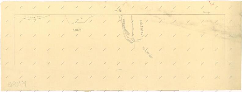 Katastrální mapa obce Rakolusky