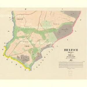 Bieltsch (Belec) - c0192-1-003 - Kaiserpflichtexemplar der Landkarten des stabilen Katasters