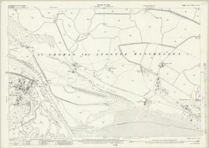 Sussex XLV.12 (includes: East Guldeford; Icklesham; St Thomas The Apostle Winchelsea) - 25 Inch Map