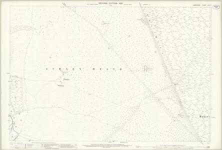 Hampshire and Isle of Wight LXX.6 (includes: Harbridge and Ibsley; St Leonards and St Ives) - 25 Inch Map