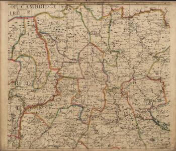 A New and Correct Mapp of Middlesex, Essex and Hertfordshire