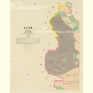 Lnař - c4181-1-001 - Kaiserpflichtexemplar der Landkarten des stabilen Katasters