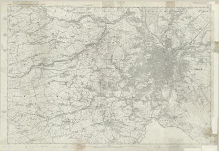 Yorkshire 294 - OS Six-Inch Map