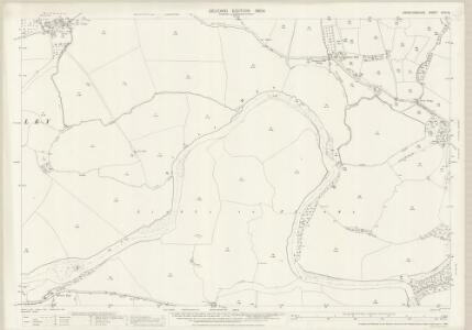 Herefordshire XXIV.16 (includes: Bredwardine; Eardisley; Letton; Willersley) - 25 Inch Map