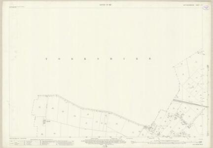 Nottinghamshire I.14 (includes: Auckley; Blaxton; Finningley) - 25 Inch Map
