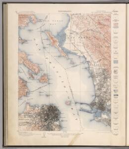 San Francisco Quadrangle.  Topography.
