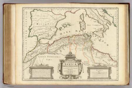 Africae Tabula Geographica.