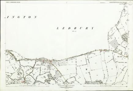 Gloucestershire X.10 (includes: Bromsberrow; Donnington; Dymock) - 25 Inch Map