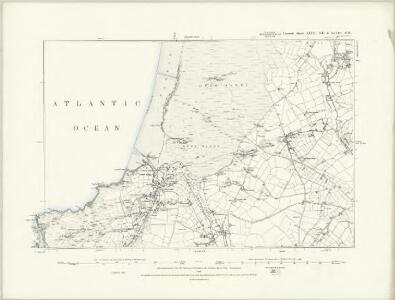 Cornwall XLVII.SE - OS Six-Inch Map