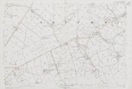 Wiltshire XXXVIII.14 (includes: Rode; Southwick) - 25 Inch Map