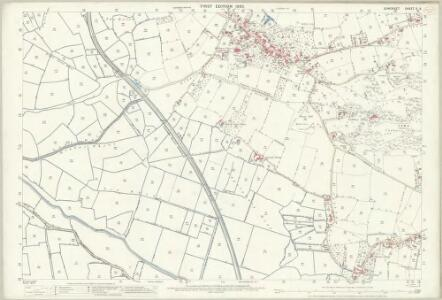 Somerset X.8 (includes: Congresbury; Yatton) - 25 Inch Map
