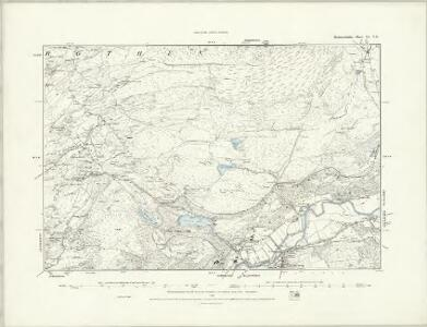 Merionethshire XI.NW - OS Six-Inch Map