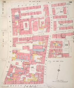 Insurance Plan of London Vol. VI: sheet 136