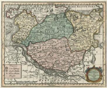 Herzogthum Holstein im Nieder Sächsischen Creisse mit seinen abgetheilten Provintzien