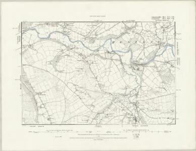 Carmarthenshire VII.NE - OS Six-Inch Map
