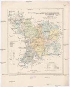 Jász-Nagykun-Szolnok vármegye térképe