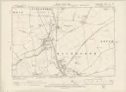 Hertfordshire VII.SW - OS Six-Inch Map