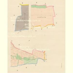 Zelwitz (Želvice) - c9408-1-001 - Kaiserpflichtexemplar der Landkarten des stabilen Katasters