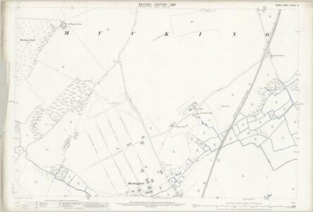 Essex (1st Ed/Rev 1862-96) LXXXIV.6 (includes: Thurrock) - 25 Inch Map