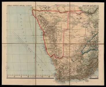 Spezial - karte von AfricaSektion Capland (9)