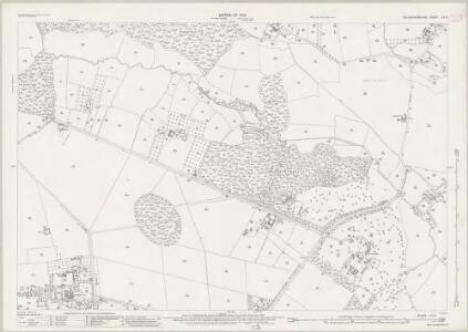 Buckinghamshire LIII.8 (includes: Denham; Iver) - 25 Inch Map