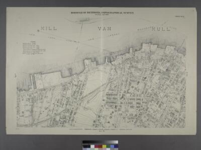 Sheet No. 8. [Includes New York and New Jersey Boundary Line, Elm Park and Port Richmond,]