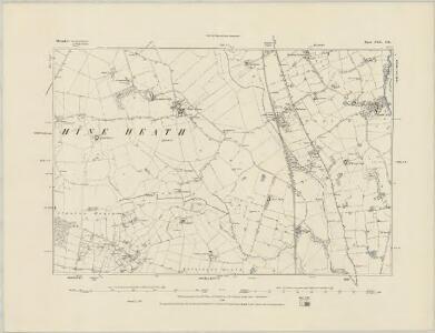 Shropshire XXII.SW - OS Six-Inch Map