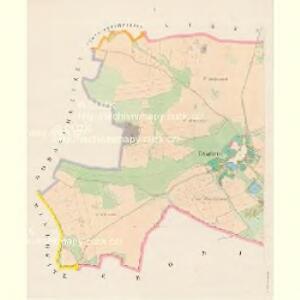 Petschetin (Peczetin) - c5678-1-001 - Kaiserpflichtexemplar der Landkarten des stabilen Katasters