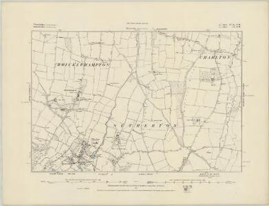 Worcestershire XLIX.SE - OS Six-Inch Map