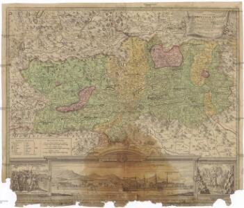 Nova et accurata Carinthiae ducatus tabula geographica