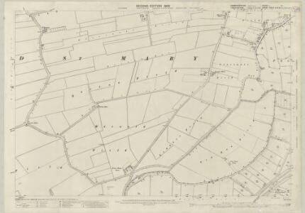 Cambridgeshire I.14 (includes: Tydd St Giles; Tydd St Mary) - 25 Inch Map