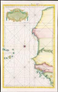 Carte reduite des costes occidentales d'Afrique