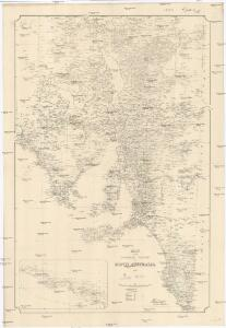 Map of the southern portion of South Australia