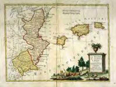 Li regni di Valenza et Murcia con l'isole Baleari, e Pitiuse