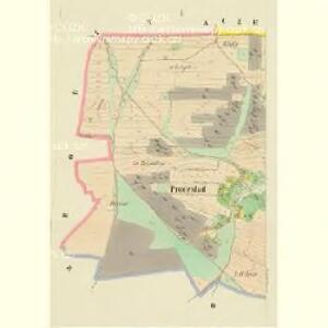 Prodeslad - c0523-1-001 - Kaiserpflichtexemplar der Landkarten des stabilen Katasters