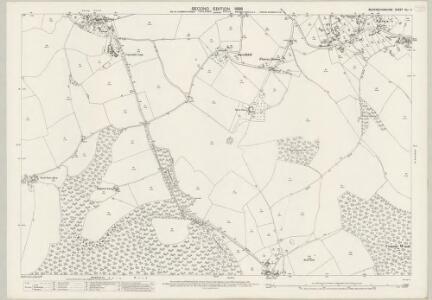 Buckinghamshire XLI.4 (includes: Bradenham; Hughenden; Lacey Green) - 25 Inch Map