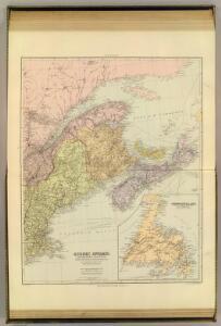 Quebec, New Brunswick, Nova Scotia, Prince Edward Id., Newfoundland.