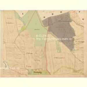 Baurowitz - c0079-1-003 - Kaiserpflichtexemplar der Landkarten des stabilen Katasters