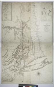 A map of the Province of New York, with part of Pensilvania, and New England.