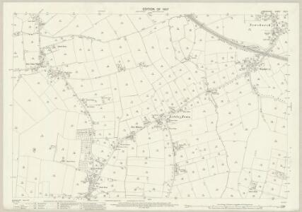 Lancashire CIX.2 (includes: Croft; Golborne) - 25 Inch Map