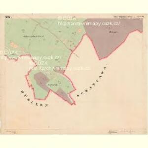 Moldau Ober - c2176-1-019 - Kaiserpflichtexemplar der Landkarten des stabilen Katasters