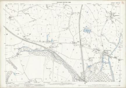 Cheshire XX.9 (includes: Hazel Grove and Bramhall; Marple; Poynton with Worth) - 25 Inch Map