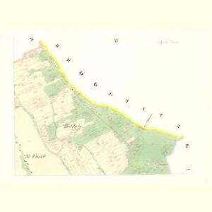 Ausilau (Auslow) - c8266-1-003 - Kaiserpflichtexemplar der Landkarten des stabilen Katasters