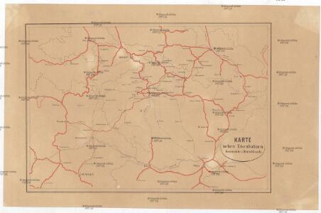 Karte mehrer Eisenbahnen Oesterreichs & Deutschlands