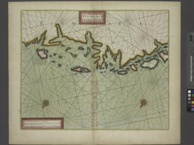 The Chart of FINMARCK from Sanien to North-Kyn or North point
