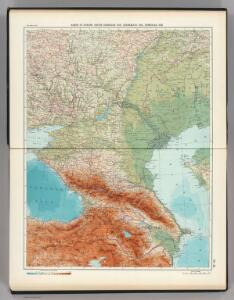 22-23.  RSFSR in Europe, South.  Georgian SSR, Azerbaijan SSR, Armenian SSR.  The World Atlas.
