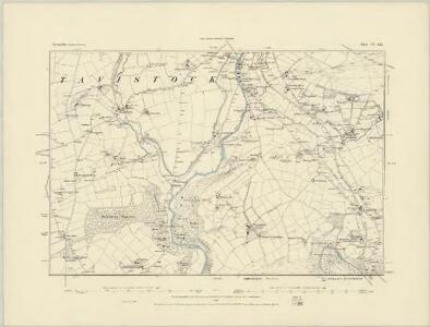 Devonshire CV.SW - OS Six-Inch Map